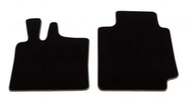 profimats velours fu matten smart fortwo 450 coupe cabrio. Black Bedroom Furniture Sets. Home Design Ideas