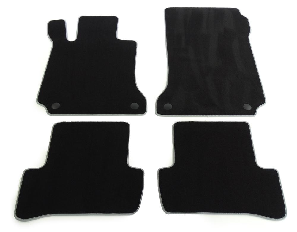 profimats velours fu matten mercedes benz c klasse w204. Black Bedroom Furniture Sets. Home Design Ideas