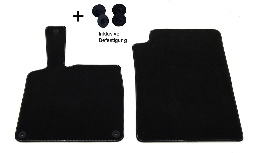 profimats velours fu matten smart fortwo 451 coupe. Black Bedroom Furniture Sets. Home Design Ideas